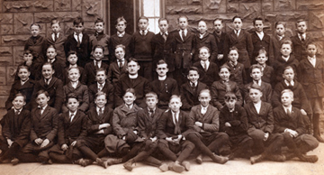 Joe, 2nd row, 3rd from left